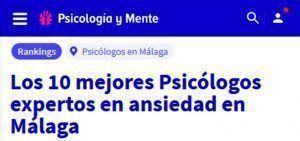 Psicólogos Ansiedad Málaga