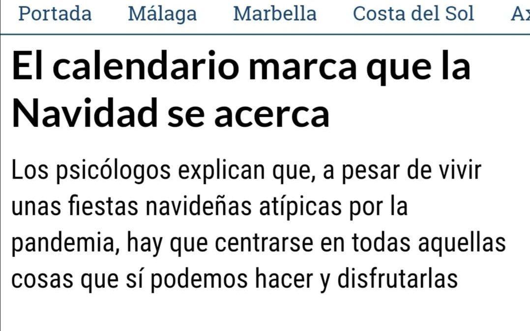 Artículo La Opinión de Málaga