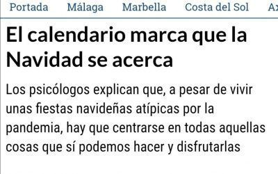 Entrevista para un artículo de La Opinión de Málaga