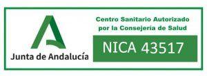 Centro Sanitario Autorizado por la Junta de Andalucía